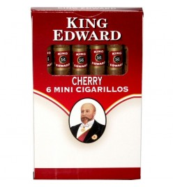 Tigari de foi King Edward Mini Cigarillo Cherry 6