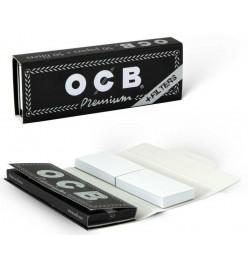Foite Rulat Tutun OCB Premium No 1 1/4 + Filter Tips