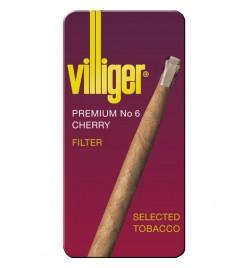 Tigari de foi Premium No.6 Cherry Tin 10