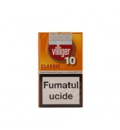 Tigari de foi Villiger 10 Small Cigars Classic Sumatra 10