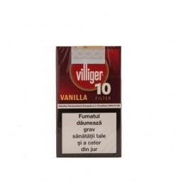 Tigari de foi Villiger 10 Small Cigars Vanilla Filter 10