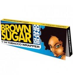 Foite Rulat Tutun Brown Sugar Island Blend 1 1/4