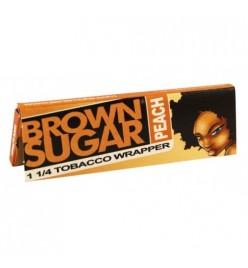 Foite Rulat Tutun Brown Sugar Peach 1 1/4