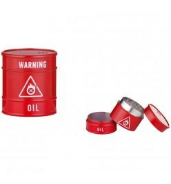 Grinder Oil Barrel Metalic