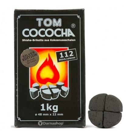 Carbuni Narghilea Tom Cococha Silver 1 kg