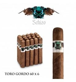 Trabucuri Schizo Toro Gordo 60 x 6 Nicaragua 20