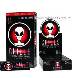 Foite Rulat Tutun Chills Alien Premium 1 1/4