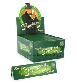 Foite Rulat Tutun Smoking Green KS