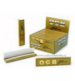 Foite Rulat Tutun OCB Slim Premium Gold KS