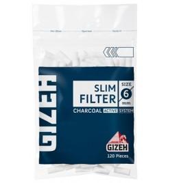 Filtre Tigari Gizeh Slim Carbon
