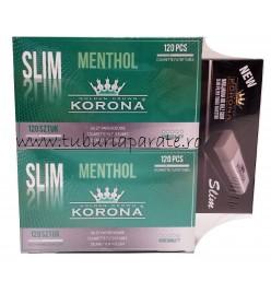 2 x Korona Slim Menthol 120 + Aparat Korona Slim