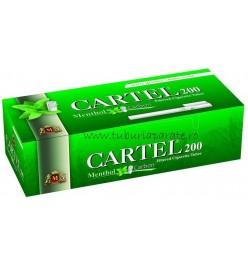 Tuburi Tigari Cartel Menthol Multifilter 200
