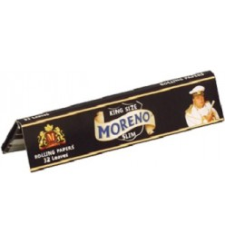 Foite Rulat Tutun Moreno Black Slim KS