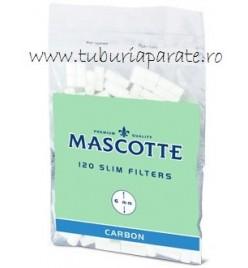 Filtre Tigari Mascotte Slim Carbon
